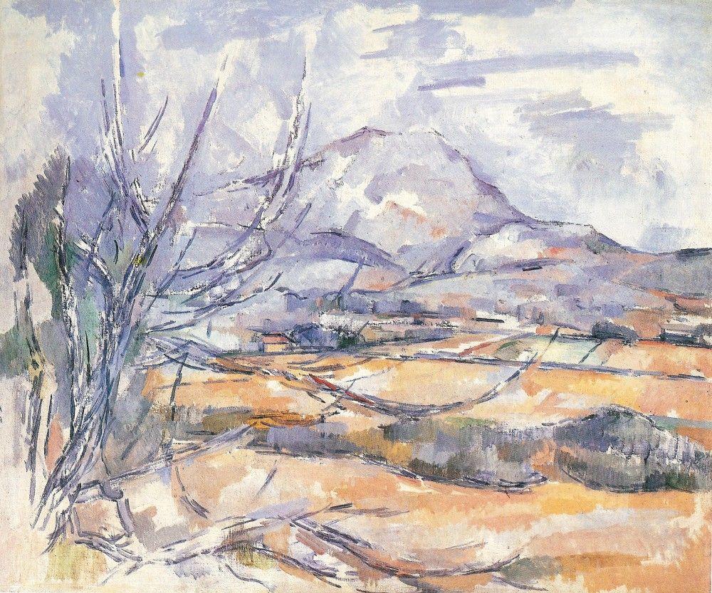 cézanne montagne sainte victoire